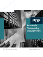 Manufacturing Cost Deployment Roadmap
