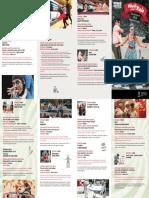 13 espectáculos componen la XVII edición de Dibertikale que comienza el 2 de julio