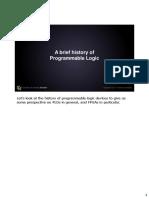 A Brief History of Programmable Logic_CourseraFPGA_M1V2