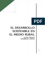 Desarrollo Sostenible Rural Martinez 2002