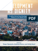 Development as Dignity book (truncated version with Serufusa Sekidde book chapter)