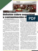 17-05-18 Debaten sobre seguridad y contaminación en Mty.