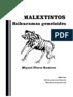Animalextintos, de Miguel Flores