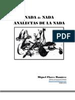 NADA DE NADA, de Miguel Flores