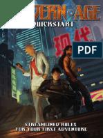 Modern AGE RPG Quickstart