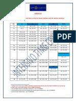 Tabela Lei Seca TJMG - 115 Dias (para concursos)