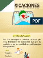 Intoxicaciones Tec. Med. 11.9