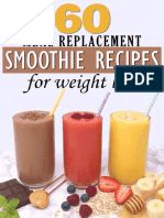 60 Meal Replacement Smoothies