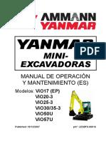 Manual Operador Ammann Yammar