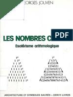 Les nombres cachés. Esotérisme arithmologique - Georges Jouven.pdf