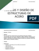 Analisis y Diseño de Estructuras de Acero-curso Cmic