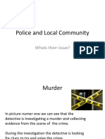 Police and Local Community