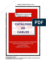 Catálogo de Cables PIFUSA