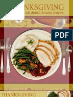 Thanksgiving Dinner Recipes 101708
