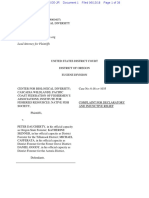 Coho & Oregon Department of Forestry Complaint
