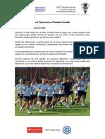 Escuela de Futbol Femenino Ciudad Jardín