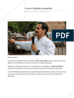 18-06-2018 Cano Vélez afirma tener medidas necesarias