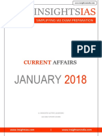 Insights Jan 2018 Current Affairs
