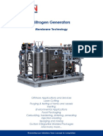Nitrogen Generators Membrane Technology