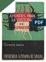Apuntes para la historia de Sinaloa