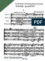 Bartók-String Quartet No. 2,