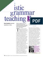 Bo Litho Holistic Grammar Teaching July 2011