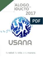 Catlogo de Producto Usana 2017