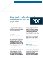 Understanding MDA Tool Requirements