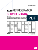ServiceManuals LG Fridge GRB207NI GR-B207NI Service Manual