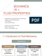 Fluid Mechanics Chapter 1 Dr.eliza Sem120172018