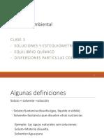 Clase 3 Dispersiones Soluciones Equilibrio Quimico AG 2016