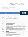 2018 PA Convention Program