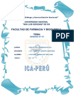 Imforme Semana 7 INDUSTRIA FARMACEUTICA