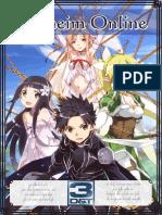 3D&T Alpha - Alfheim Online - Sword Art Online - Compacto - Biblioteca Élfica