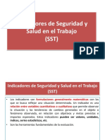 Indicadores SST