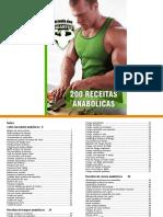 Bônus - 200 Receitas Anabolicas
