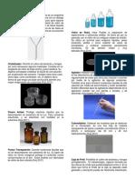 Cristalería en Laboratorio
