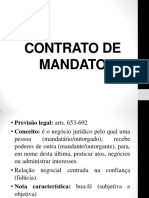 Mandato - 2018