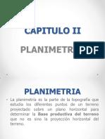 Planimetría