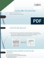 Licencia de Anuncios - A