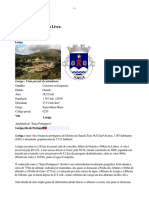 Loriga Wikipedia - Extratos Da Obra Do Historiador António Conde Sobre a História de Loriga No Artigo Que Ele Criou Na Wikipédia