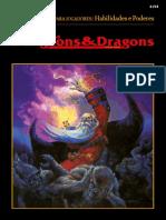 AD&D 2E - Opções Para Jogadores - Habilidades e Poderes (Digital) - Biblioteca Élfica