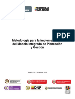 Metodologia Implementacion Mipg