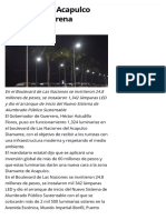 19-07-2017 Boulevard de Acapulco Diamante Estrena Luminarias.