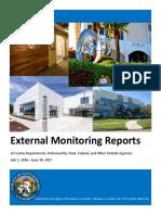Santa Barbara County 2016-17 External Monitoring Report