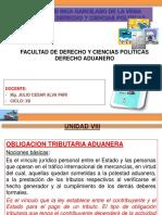 Derecho Aduanero Clases Viii 2018