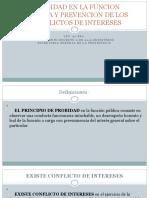 Probidad en La Funcion Publica y Prevencion De