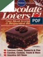 - The Pillsbury Chocolate Lovers Cookbook (1991, Doubleday)