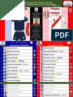 VM Grupp C omgång 2 180621 Frankrike - Peru 1-0