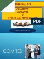 Tema 6-3 Comites Grupos y Toma de Desiciones